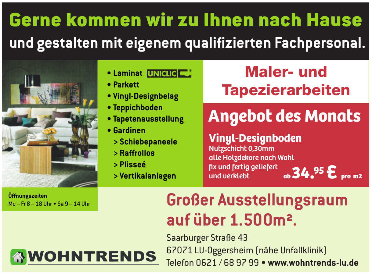 Wohntrends