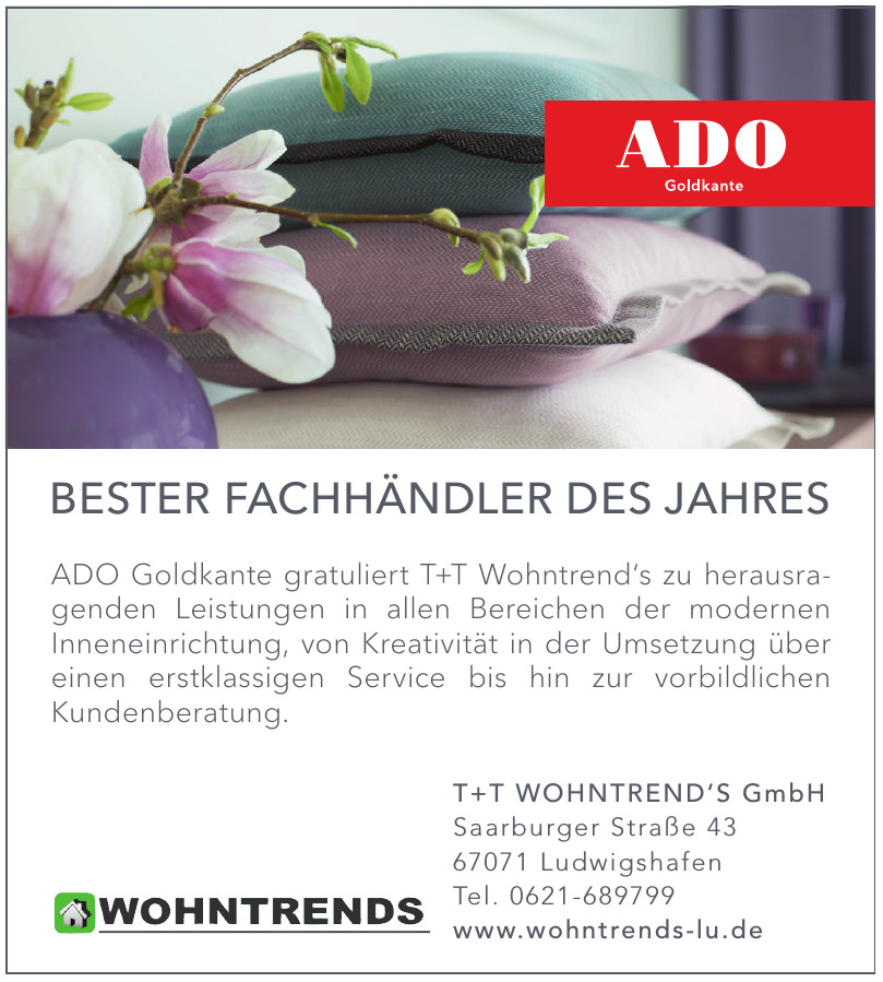 T+T Wohntrend's GmbH